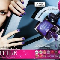 Nuovi smalti Avon VIVID VIOLET E BLUE SHOCK....in c17!